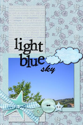 light blue sky 30