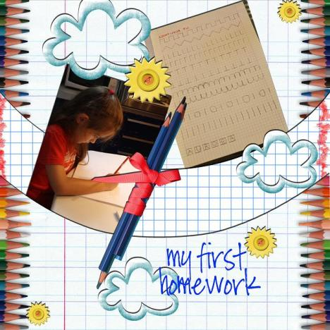 my first homework 18