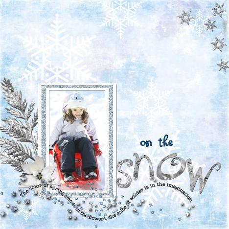 on the snow 18